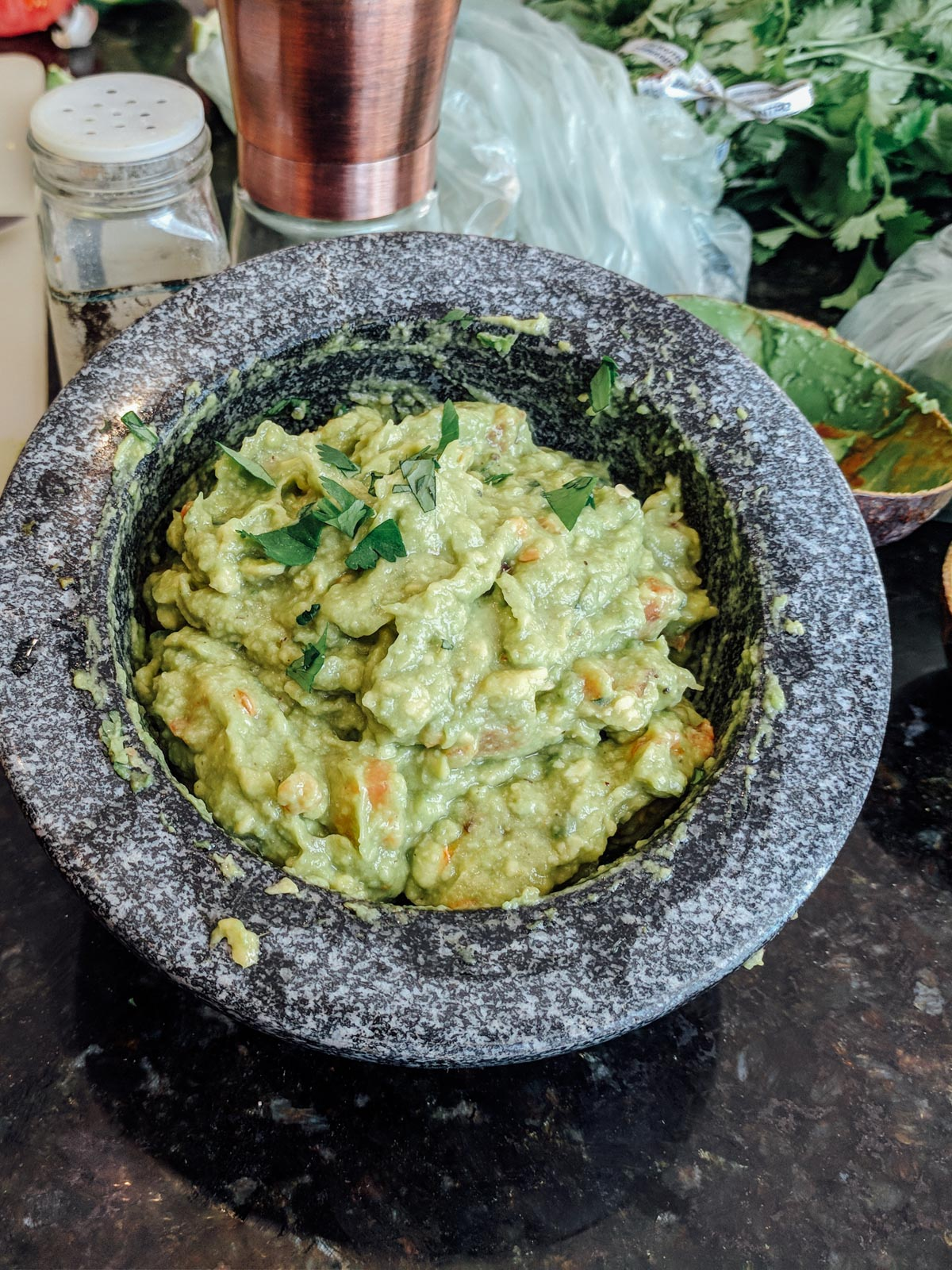 Easiest Low FODMAP Guacamole | Go Messy or Go Hungry