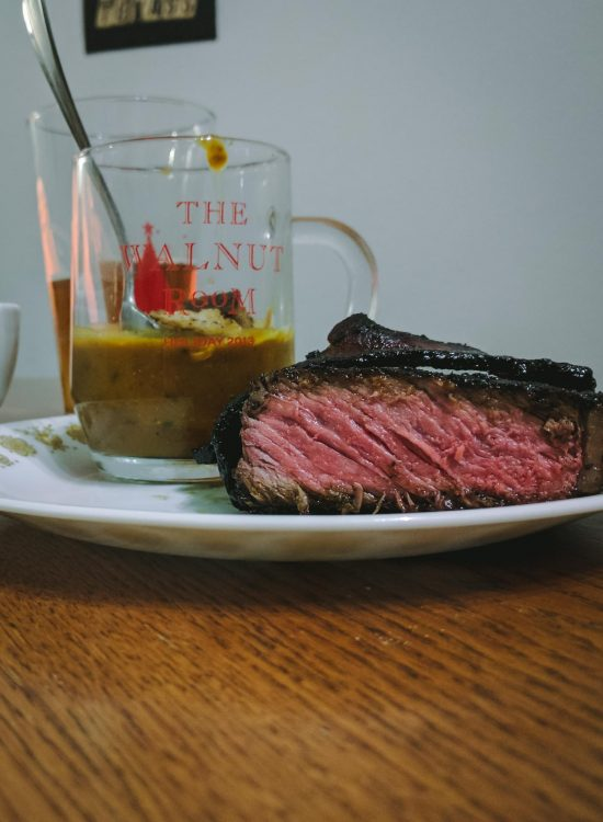 Pumpkin Soup and Steak | Go Messy or Go Hungry