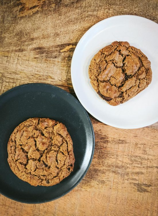 Pumpkin Chocolate Chip Cookies for two (or one!)