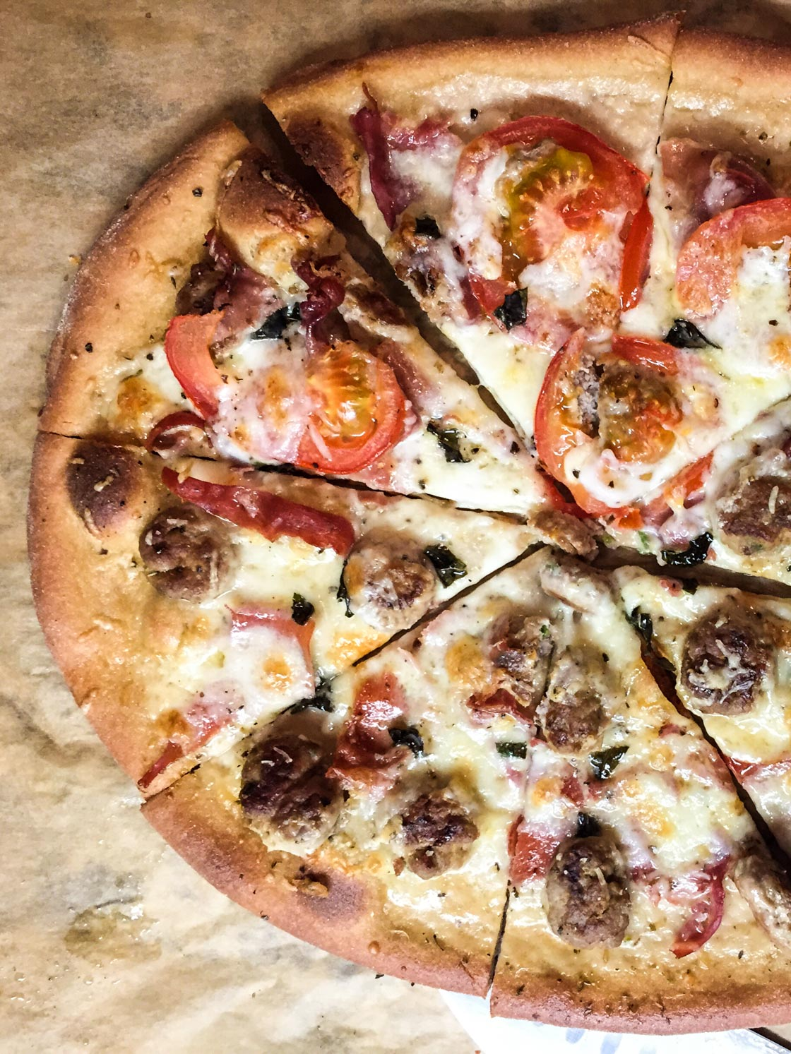 Low FODMAP Pizza Dough | Go Messy or Go Hungry