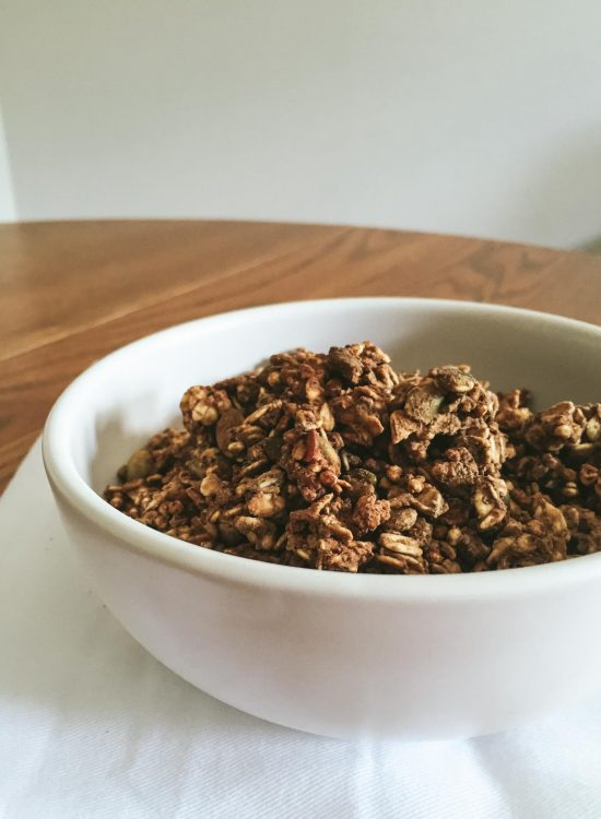 Protein Granola recipe | Go Messy or Go Hungry