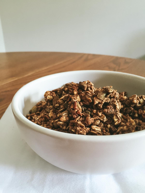Protein Granola recipe | Go Messy or Go Hungry