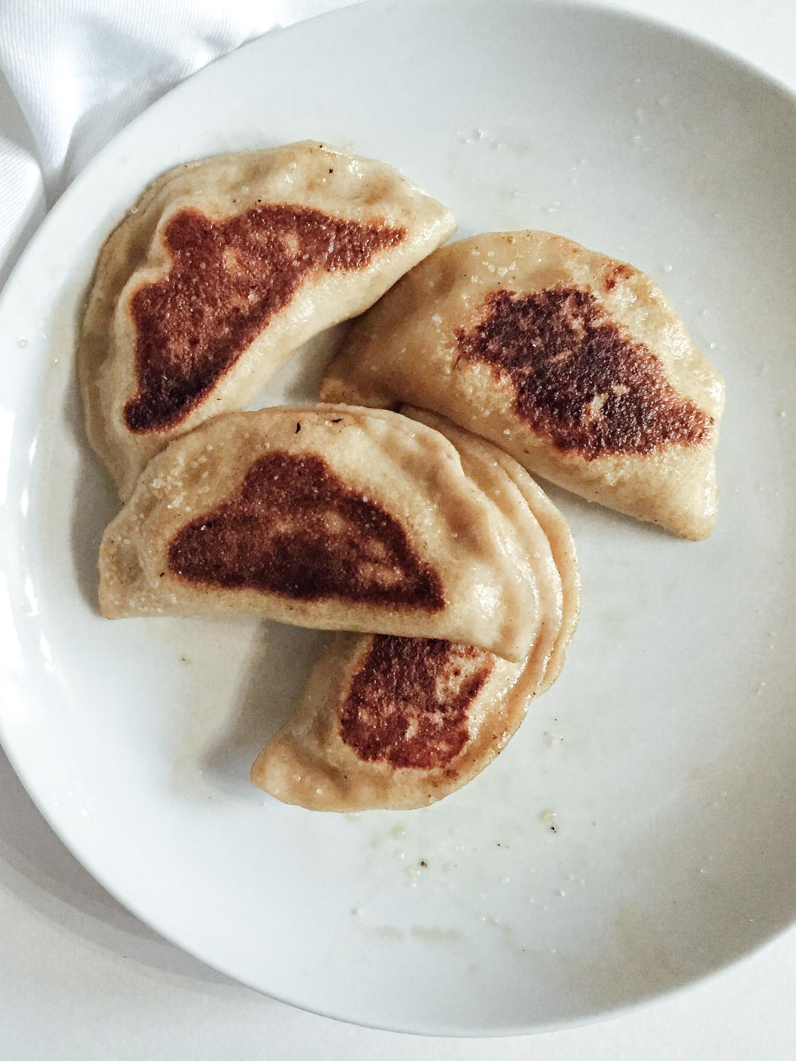 Low FODMAP Pierogies | Go Messy or Go Hungry