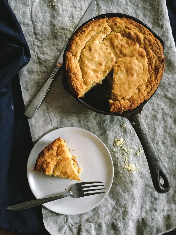 Gluten Free Cornbread Recipe | Go Messy or Go Hungry