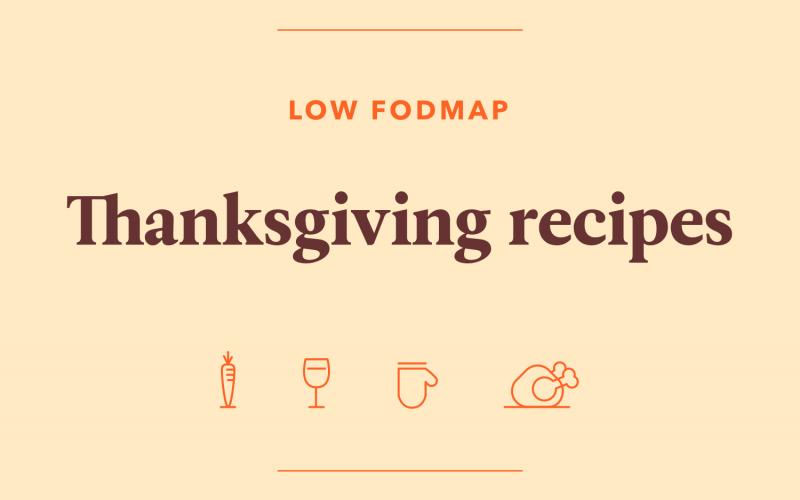 Low FODMAP Thanksgiving Recipes