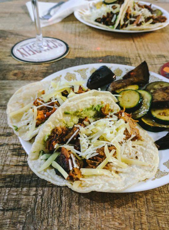 Gochujang Chile Pork Tacos