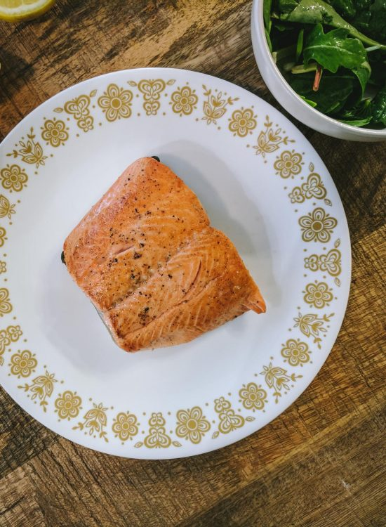 Perfectly Cooked Salmon