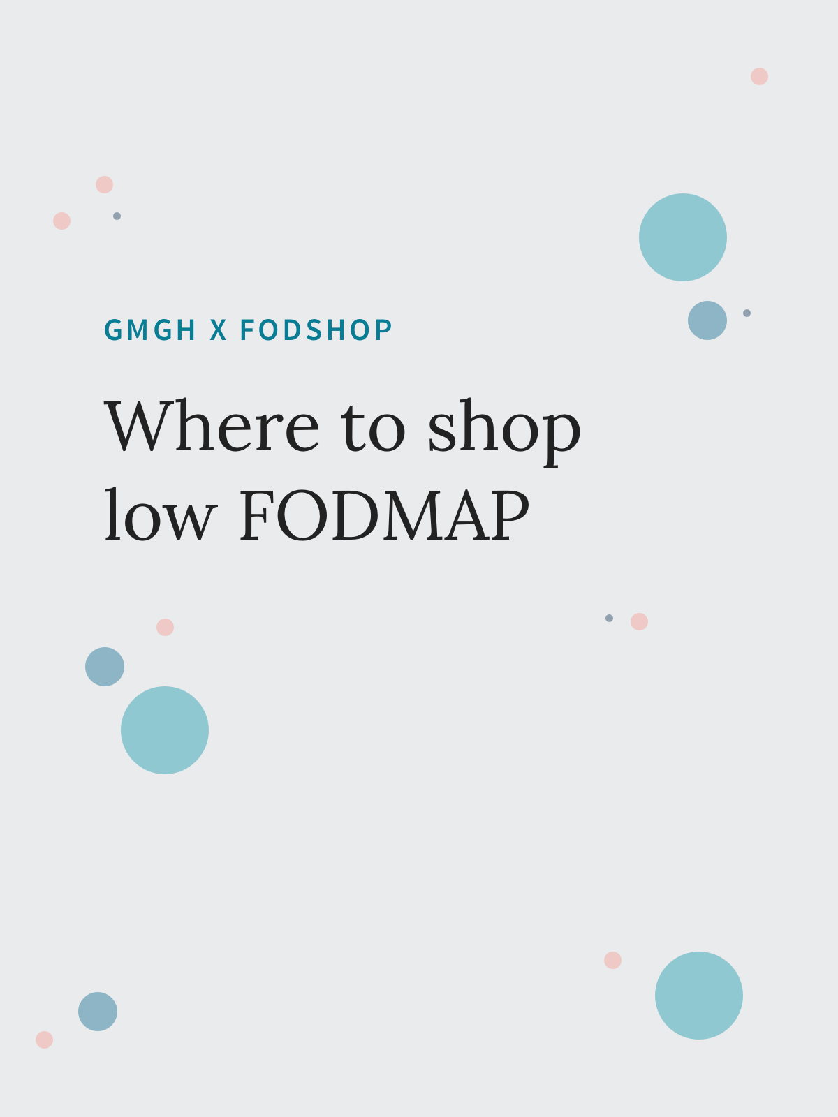 Where to Shop Low FODMAP | Go Messy or Go Hungry