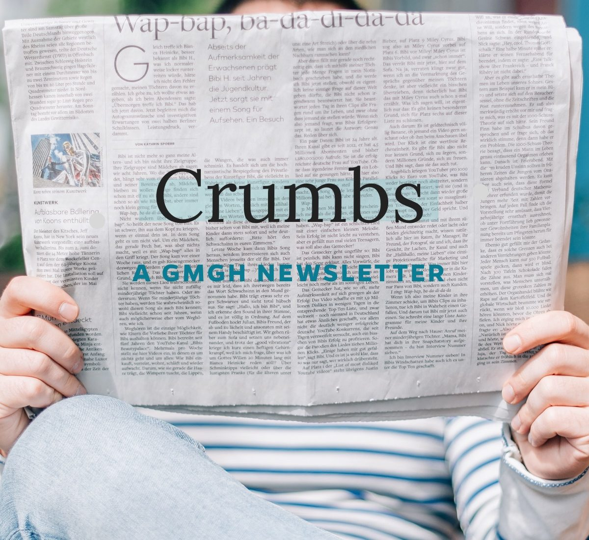 New year, new newsletter: Introducing Crumbs!