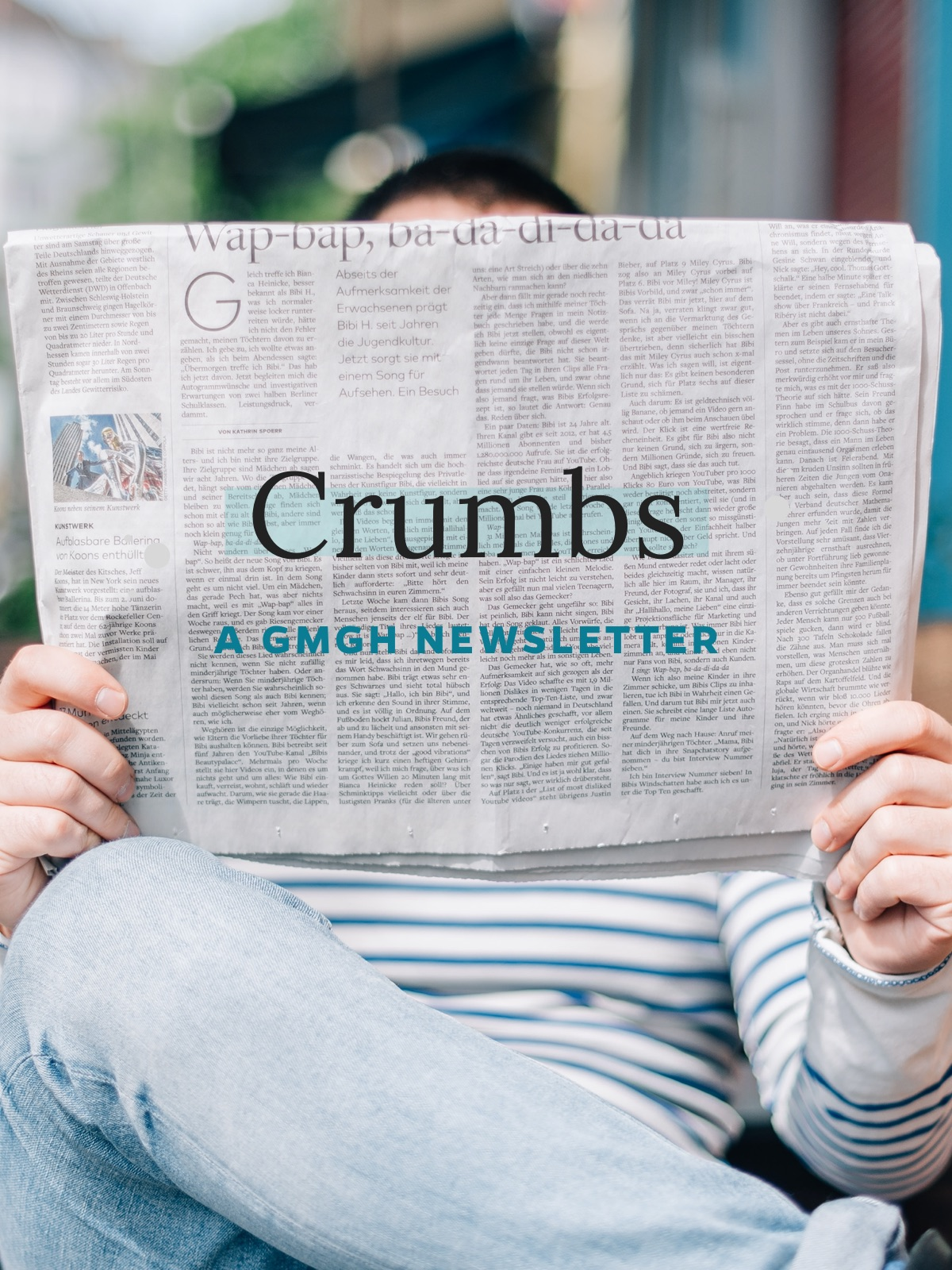 Introducing Crumbs, a GMGH newsletter