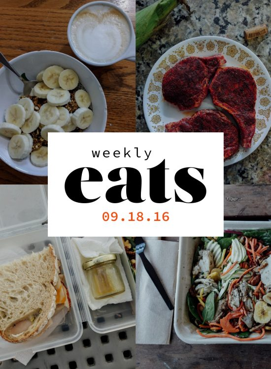 Weekly Eats 01 | Go Messy or Go Hungry