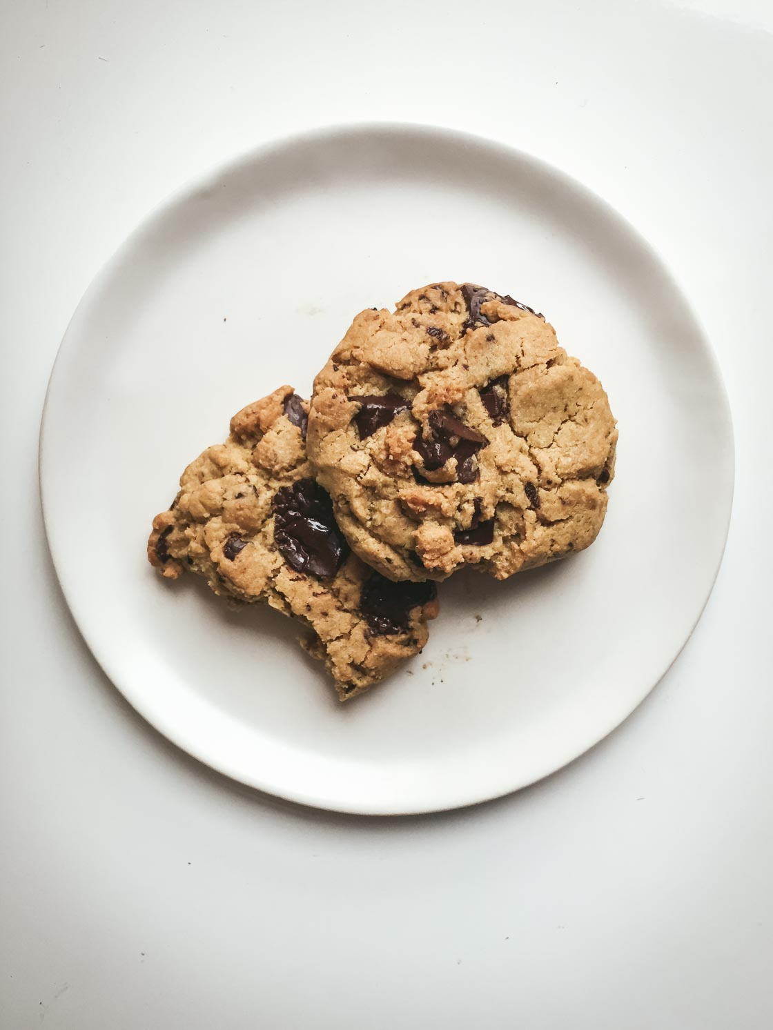 Chocolate Chip Cookies For Two | Go Messy or Go Hungry
