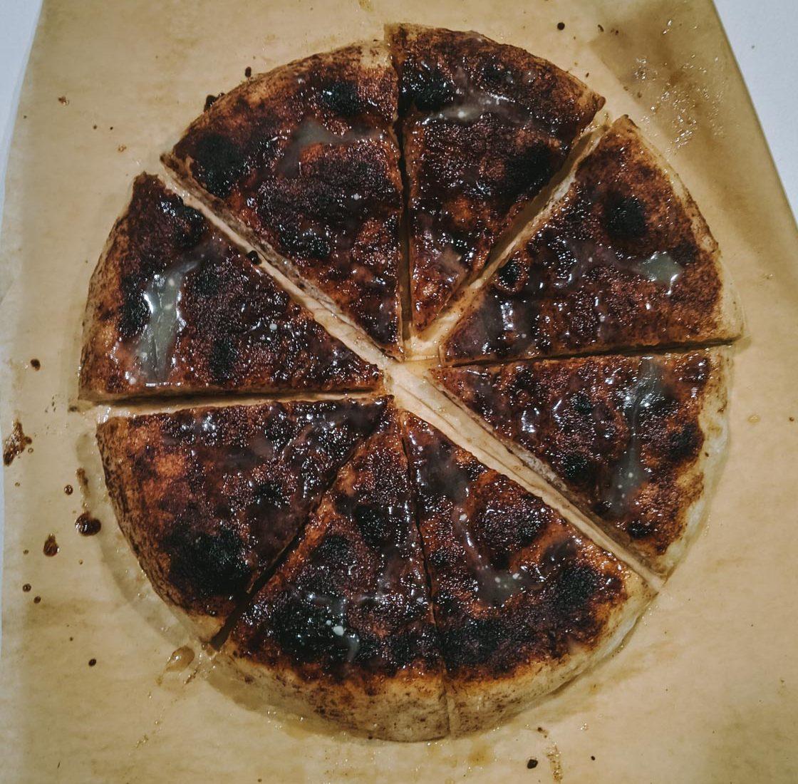 Sourdough Dessert Pizza {Low FODMAP}