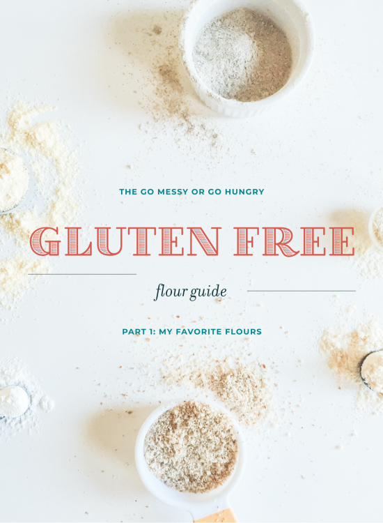 Gluten Free Flour Guide Part 1: The 5 Essential Flours