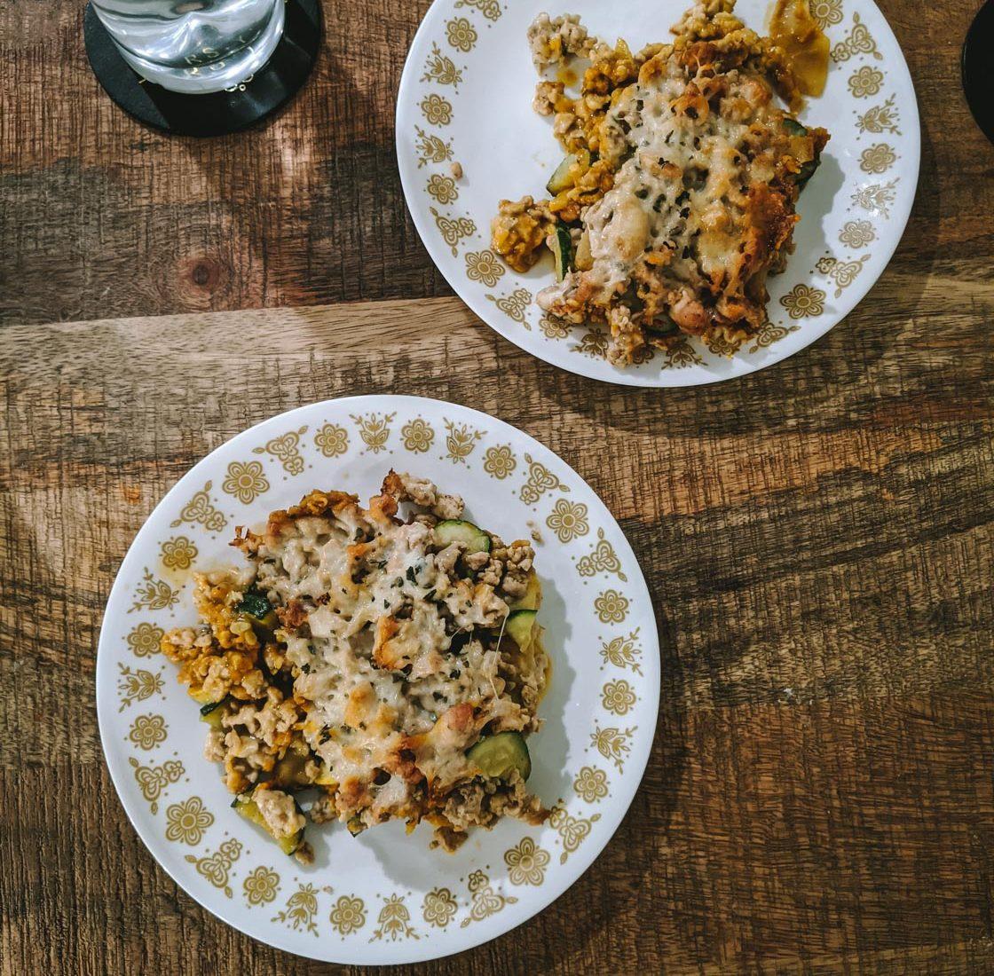 Low FODMAP Pumpkin Lasagna Recipe