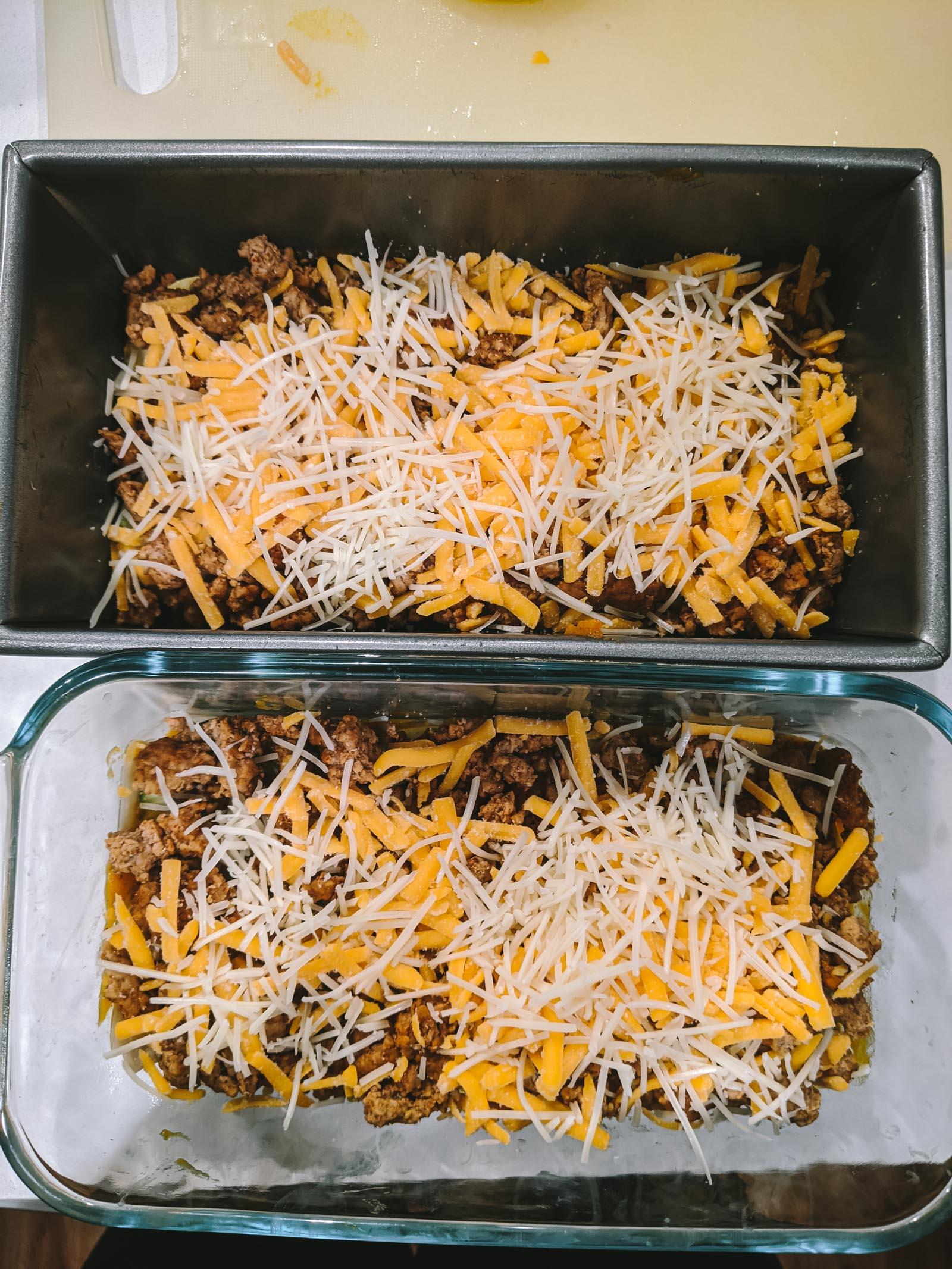 Low FODMAP Pumpkin Lasagna | Go Messy or Go Hungry