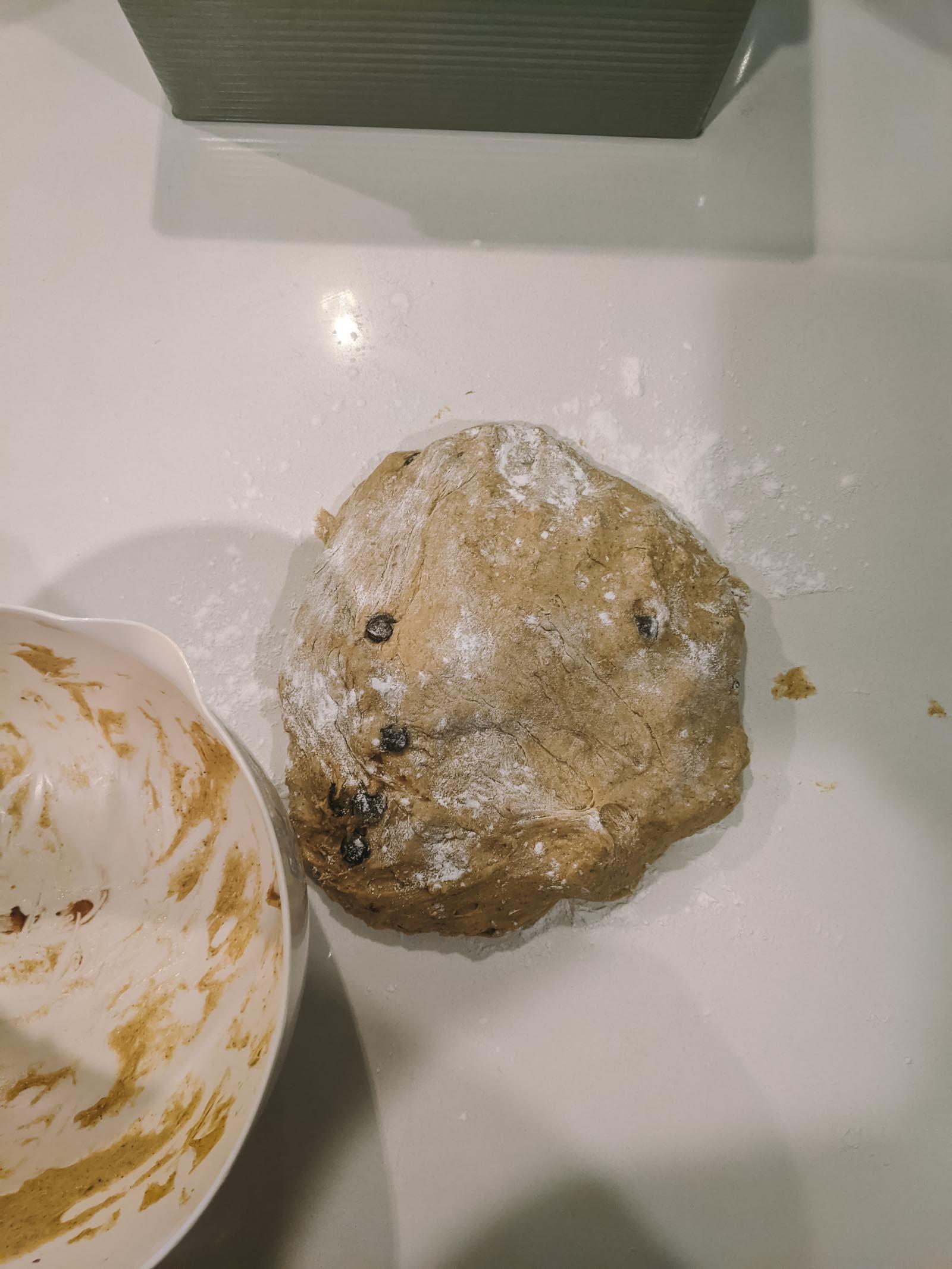 Pumpkin Chocolate Chip Sourdough Bread   Go Messy or Go Hungry