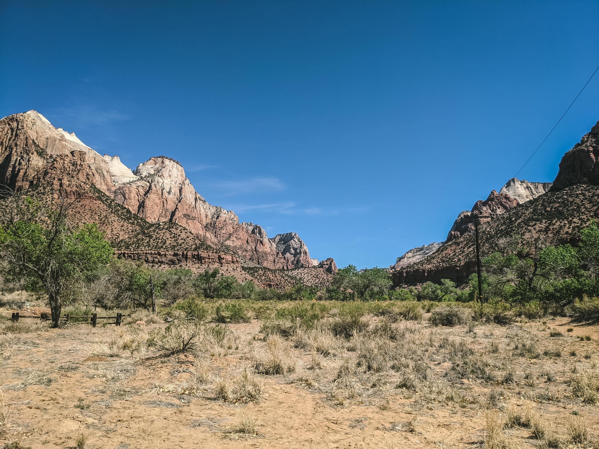 Pa'rus trail in Zion National Park | Go Messy or Go Hungry