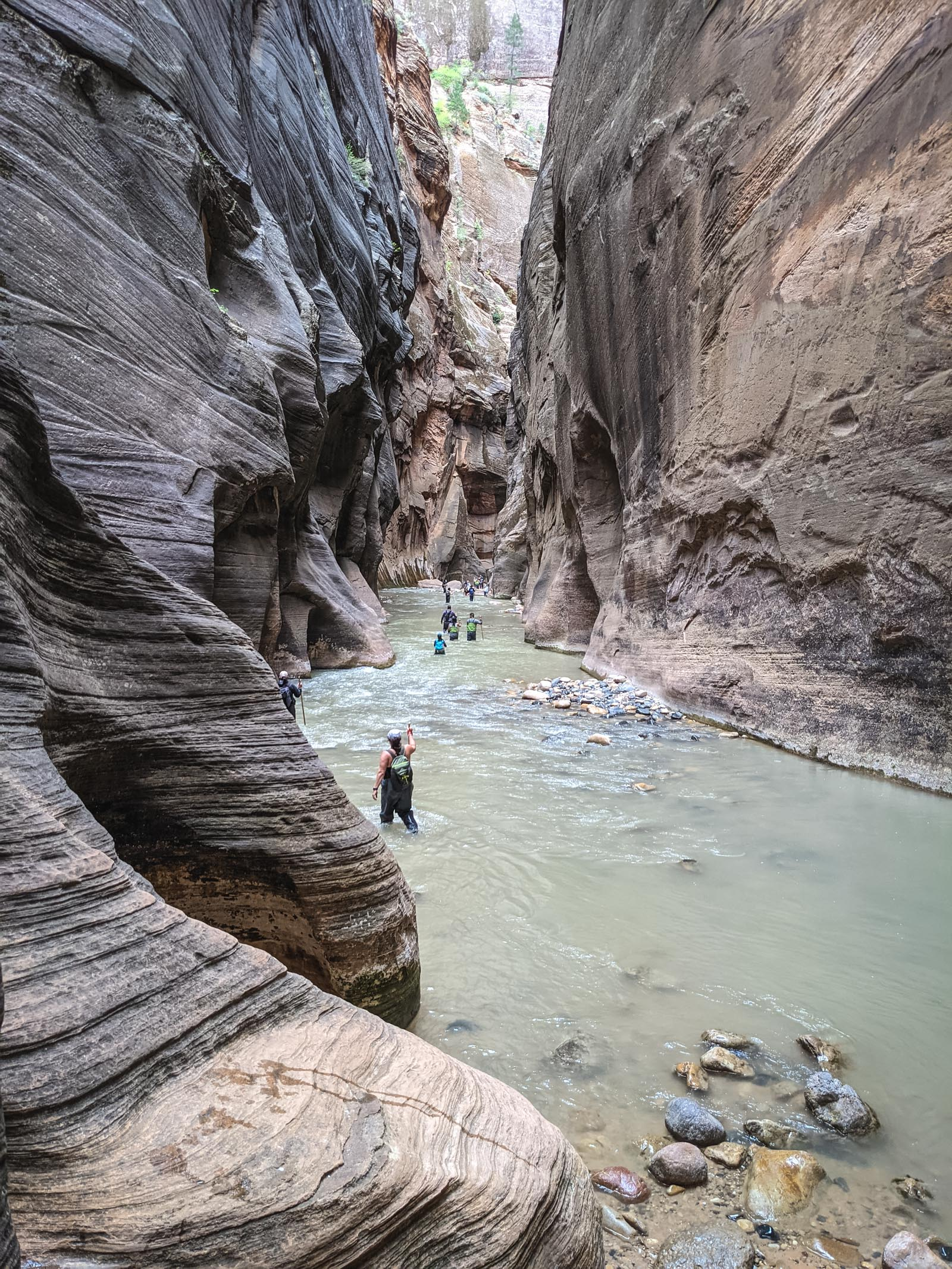 The narrows in Zion National Park | Go Messy or Go Hungry