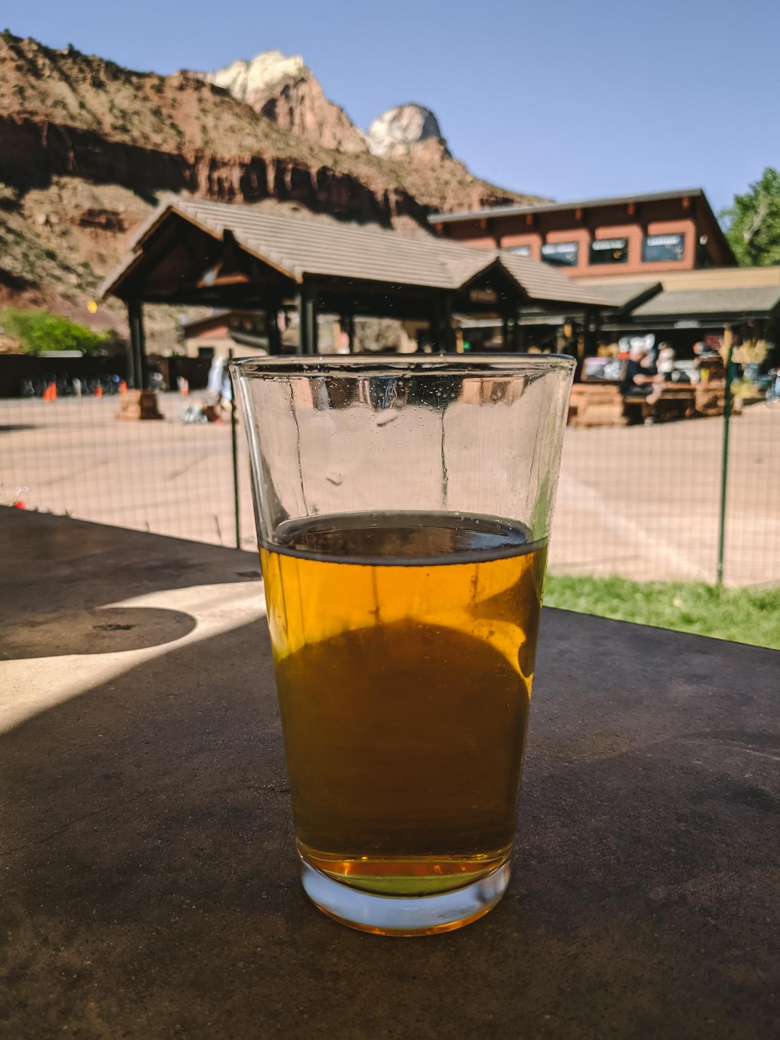 Beers at Zion Canyon Brew Pub in Zion National Park