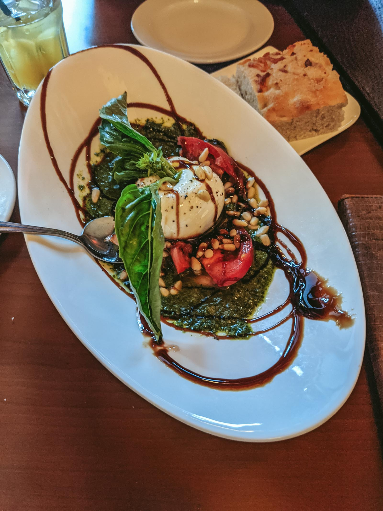 Salad from Switchback Grille in Zion National Park