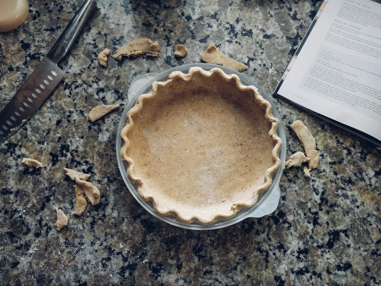 Gluten free pumpkin pie | Go Messy or Go Hungry